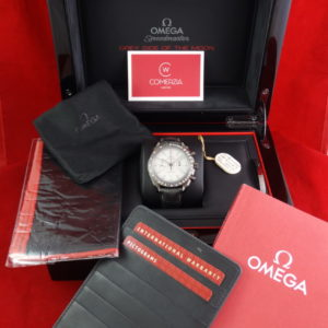 omega grey side moon ceramic 1244