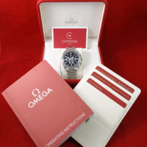 omega speedmaster coaxial broad arrow 9501