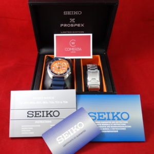 seiko tortuga turtle orange limited edition 9362