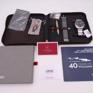 oris chronoris 40th anniversary williams limited edition 3985